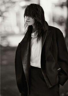 coat, la modella mafia Melissa Stasiuk x Russh Magazine December 2012: January 2013 photographed by Nick Dorey 1