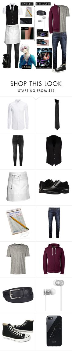 """""""One punch man oc"""" by gglloyd ❤ liked on Polyvore featuring Joseph, Versace, Topman, Dolce&Gabbana, Chef Works, Stacy Adams, Jack & Jones, Alexander Wang, Lands' End and Columbia"""