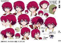 Yona character design 2
