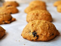 Might have to make these, but minus the orange zest (not a fan of orange in cookies) | Pumpkin Orange Cranberry Cookies