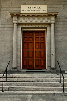 Independent Presbyterian Church Doorway, Savannah