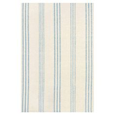 We love the striped pattern of this woven rug. | from $33