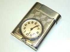ETERNA WATCH LIGHTER - 935 SILVER - MADE BY ETERNA & CIE. - 1930…