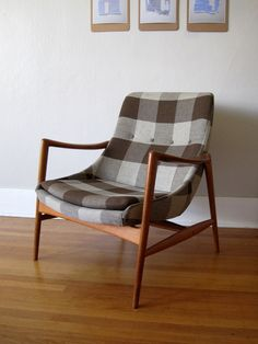 ELEGANT Vintage Norwegian Modern Armchair. $1,200.00, via Etsy....I'm in love, just not with the price, although I am  sure it's worth it.
