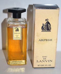 Lanvin Arpege - Quirky Finds - Always in Love with Vintage- Shop Vintage Purses, Vintage Perfume Bottles & Fragrances, Compacts & Vintage Luggage..