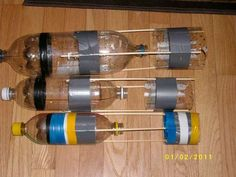 Small Water Rockets