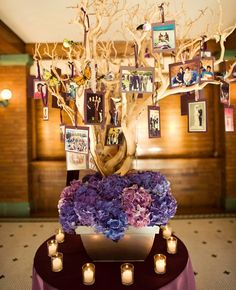 16 Creative Ways To Display Family Photos At Your Wedding - The Knot Blog