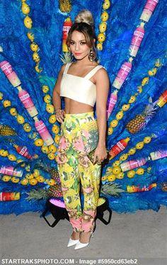 Vanessa Hudgens attends at the SVEDKA`s Summer Samba - Beverly Hills - CA June 17, 2014