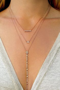 Layering necklaces like a pro #danarebeccadesigns #holiday #holidayshopping #gifts #giftideas