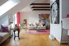Home Design, Cozy Interior Stockholm Design: Cheerful Ambience House