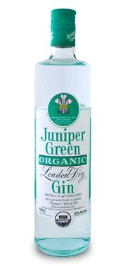 Juniper Green Organic Gin - Altitude Spirits Inc. - want to try this