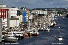 Haugesund. A town in Rogaland county, on the southwest coast of Norway. Filmfestival. Jazzfestival. Harbour Days etc.