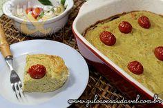 Torta Fácil de Brócolis e Ricota » Receitas Saudáveis, Tortas e Bolos » Guloso e Saudável