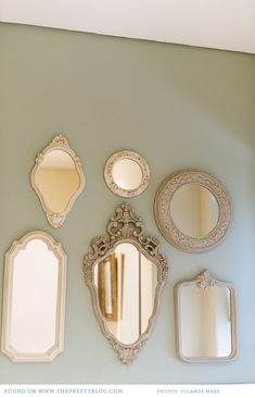 Beautiful mirrors | Photo: @Yolandé Marx