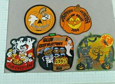 Lot of 5 Cub Beaver Boy Scout Badges Patches Halloween Camp Events Cub Scout Patches, Boy Scout Badges, Beaver Scouts, Scout Camping, Vintage Boys, Merit Badge, Pinewood Derby, Cub Scouts, Sleepover
