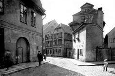 Blick in die Tuchmacherstrasse, Königsberg/Pr.