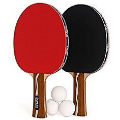 Duplex 6 Star Ping Pong Paddle Set