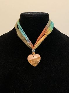 Boho style choker heart necklace (handcrafted) for Sale in Dover, NH - OfferUp Ladybug Jewelry, Sari Silk, Stone Heart, Boho Style, Boho Fashion, Arrow Necklace, Jewelry Accessories, Chokers, Pendants