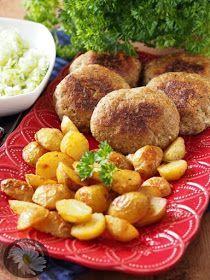 Kotlety mielone z jabłkami i majerankiem z piekarnika
