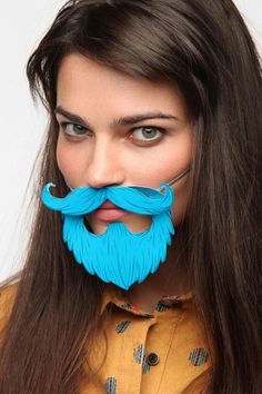 Just in case you want everyone at your party to have a beard #urbanoutfitters