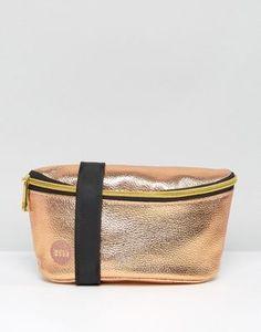 Mi-Pac Fanny Pack Metallic Rose Gold