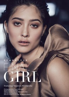 "topmodelcentral: "" Maureen Wroblewitz for Starstyle Magazine ~ Asia ~ by Miguel Alomajan "" Maureen Wroblewitz, Star Fashion, Fashion Models, Asia's Next Top Model, Magazine Cover Page, Best Profile, Filipina Beauty, German Fashion, Most Popular Videos"