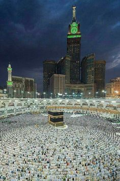 Kaabah is the centre of prayers for all Muslims.