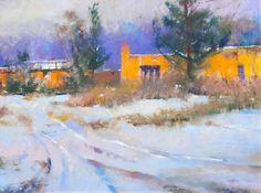 Pastel by Albert Handell