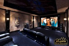 Atlanta Home Theater Ahtheater On Pinterest