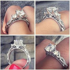 Beautiful Verragio Engagement Rings from the Verragio Venetian Collection