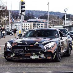 Camo Mercedes AMG GTR