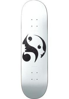 Quasi Johnson-Each-Other, Deck, white-black Titus Titus Skateshop #Deck #Skateboard #titus #titusskateshop