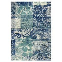 Found it at Wayfair - Allure Artisan Blue Area Rug http://www.wayfair.com/daily-sales/p/Winter-Blues%3A-Rugs-in-Cool-Hues-Allure-Artisan-Blue-Area-Rug~KG8667~E16917.html?refid=SBP