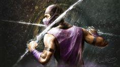 Rain - Wallpaper Mortal Kombat - Fan Art - by fear_sas - 1920x1080
