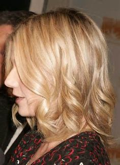 Image detail for -wavy hairstyles for medium length hair