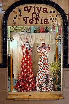 Spain, Malaga, Dresses