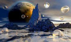 """Ice Planet"" Fine Art Print"