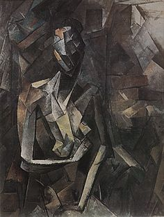Seated Nude, 1909-10, Pablo Picasso