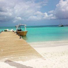 The perfect view in Aruba