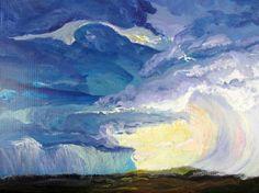 "Saatchi Art Artist MaryAnn Ead; Painting, ""Tempest"" #art"