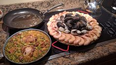 Chef Jose - Chicken and Seafood Paella #food #foodporn #recipe #cooking #recipes…