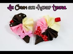 How to make a 5 inch OTT hair bow using lalaloopsy tinies (Let's make a bow) - YouTube