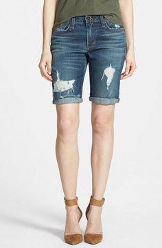 Joe's 'Finn' Denim Bermuda Shorts (Meeka) available at #Nordstrom