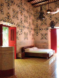 artist jorge pardo's home in the yucatan