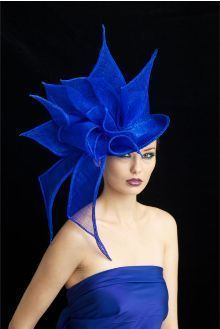 Free Vintage Hat Patterns Toppers Fascinator Headpieces, I'm sharing this week. Fashion Moda, Look Fashion, Fashion Hats, Blue Fashion, Ladies Day, Crazy Hats, Millinery Hats, Church Hats, Fancy Hats