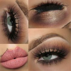 Look absolutely elegant with this classic brown smokey eye. Shop the essentials used for your next formal event.