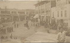 Cobalt Square, ca. 1906 - The Cobalt Adventure Small Towns, View Image, Cobalt, Adventure, Fairy Tales, Adventure Nursery