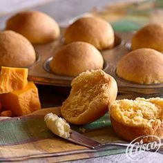 Easy Cheese Rolls from Crisco® #fathersday #recipes