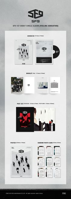 알라딘: 에스에프나인 - 싱글 1집 Feeling Sensation - 부클릿(48p)+포토엽서(9매)+포토카드(랜덤1종)