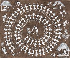 Vijay Sadashiv Mashe @ Folk & Tribal Art | #StoryLTD #Painting #South #Asian #Art